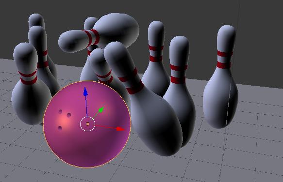 Bowling Scene