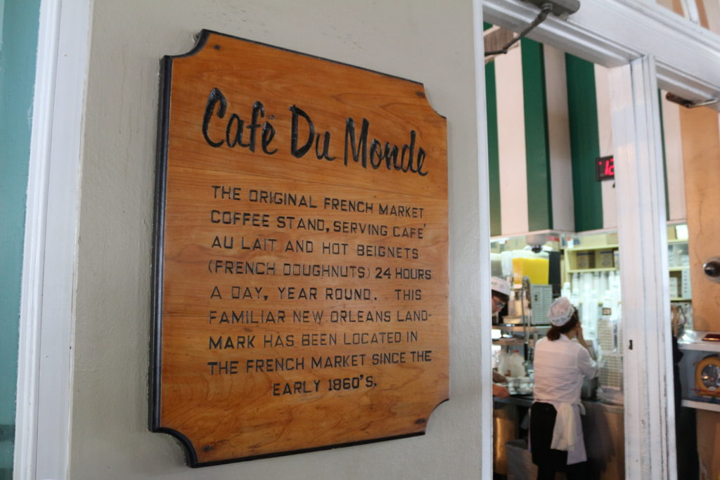 The original cafe du monde